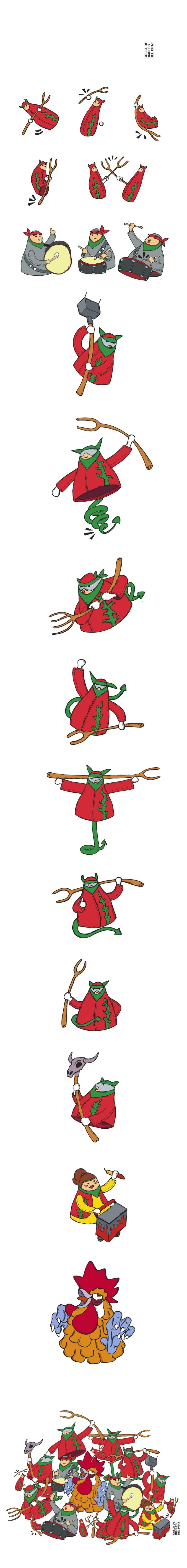 Diseño para camiseta Diables del Prat 0