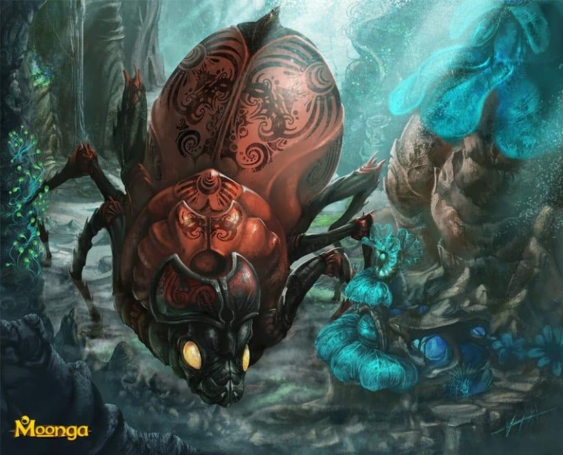 Portfolio Moonga TCG (Ilustraciones) 4