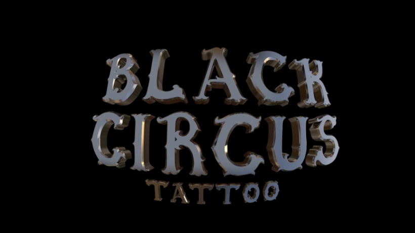 Diseño logo 3D - Tienda tattoo de Tenerife 0