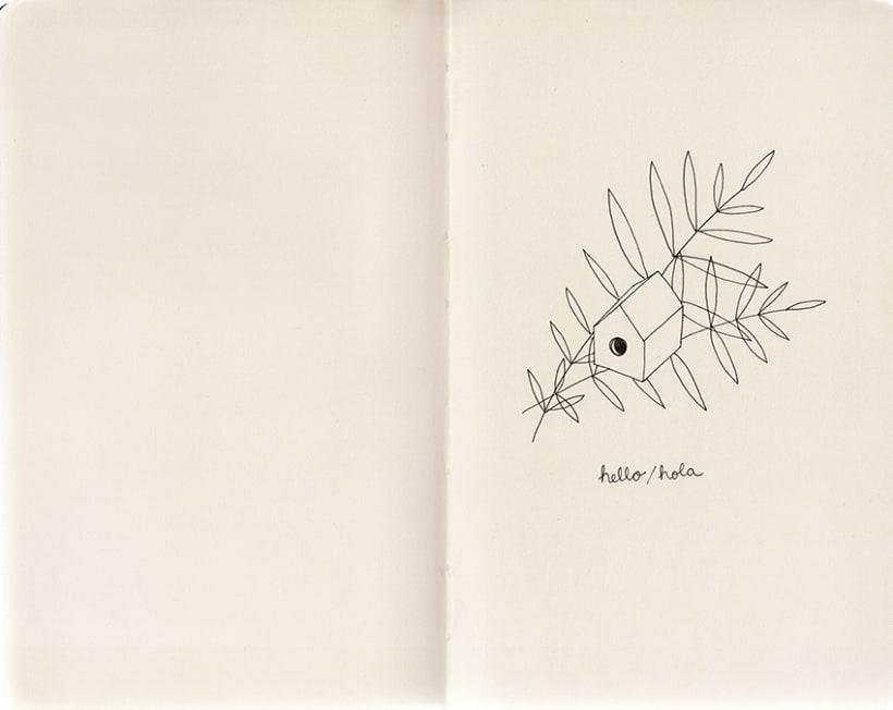 Travel notebook / Cuaderno de viaje -1