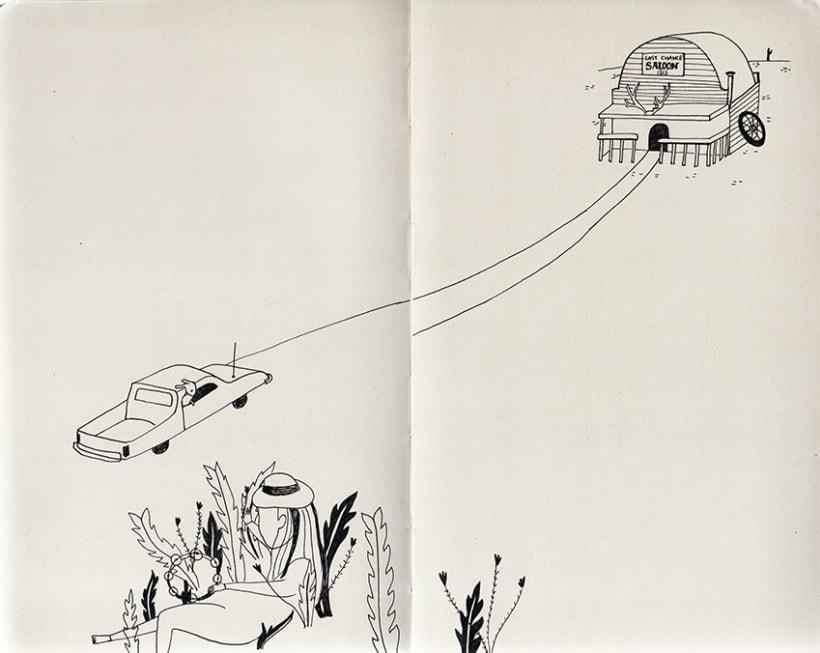 Travel notebook / Cuaderno de viaje 1