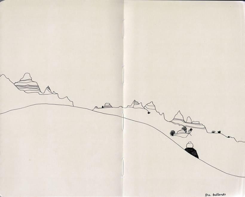 Travel notebook / Cuaderno de viaje 4
