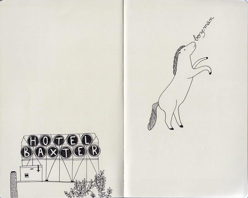 Travel notebook / Cuaderno de viaje 5