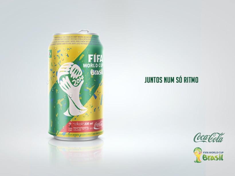 Concepto lata de Coca-Cola Mundial Brazil 2014  -1