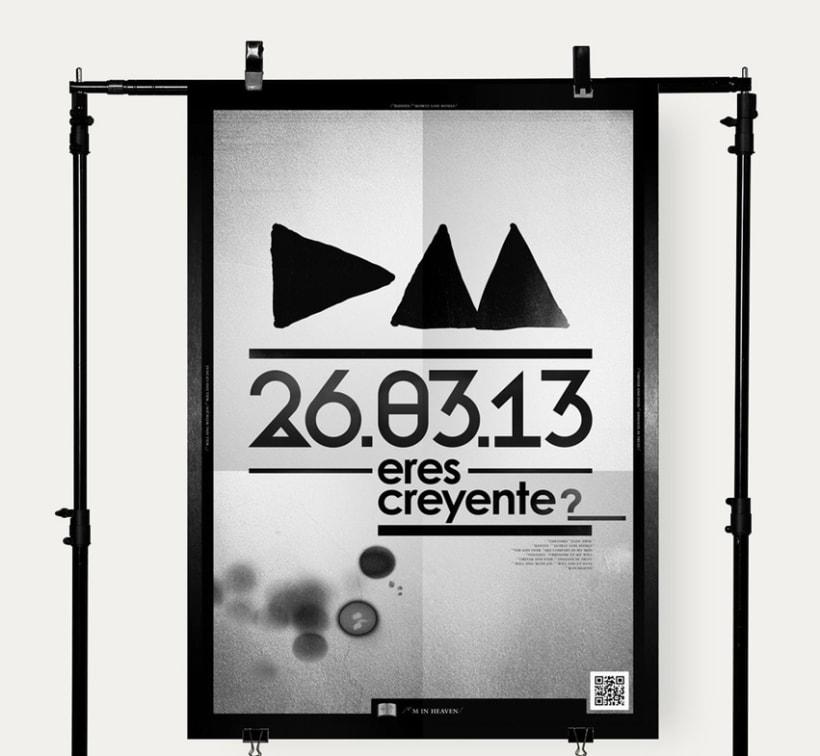 Depeche Mode Poster -1