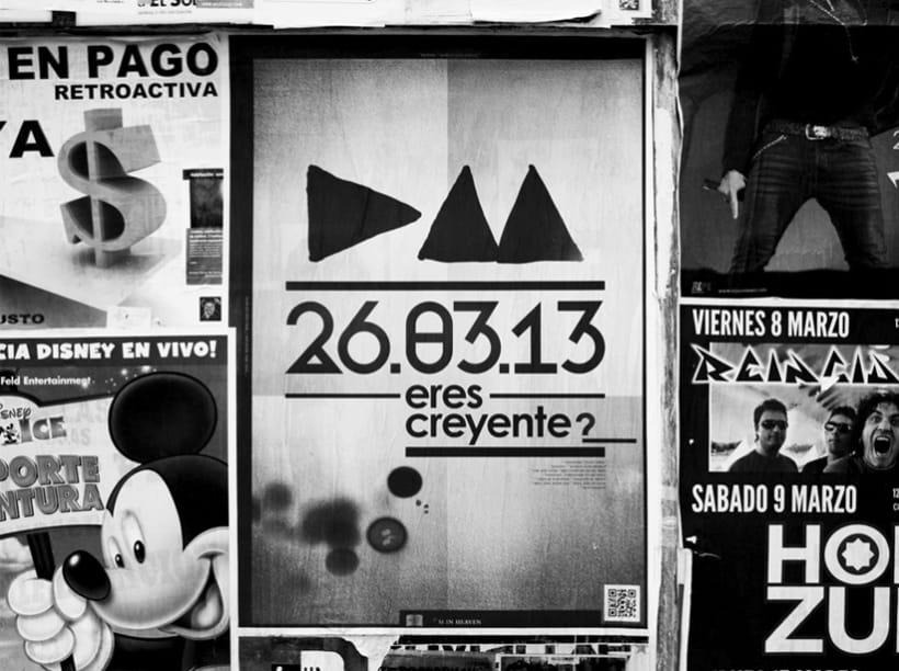 Depeche Mode Poster 2