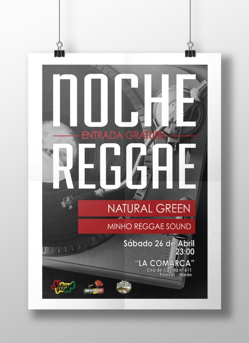 Cartel Noche Reggae 0