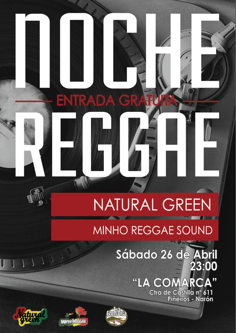 Cartel Noche Reggae 1