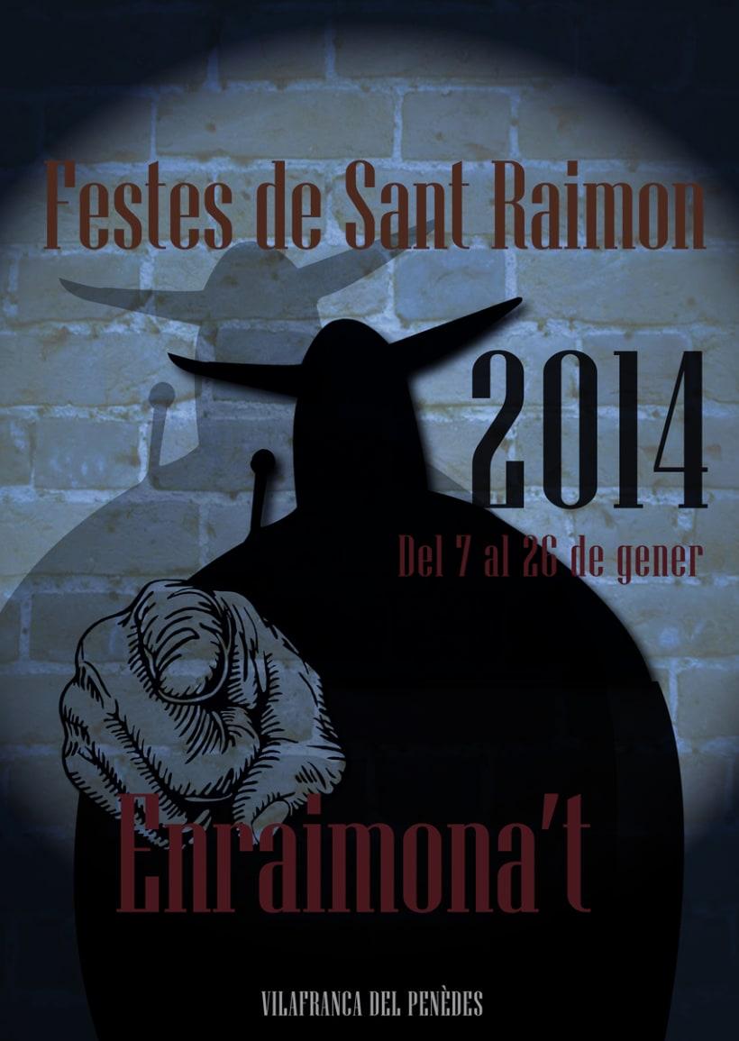 Cartel Festes Sant Raimon 2014 2