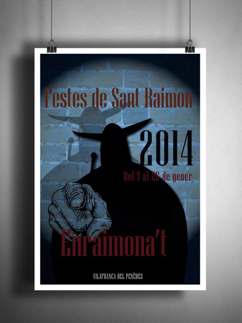 Cartel Festes Sant Raimon 2014 4