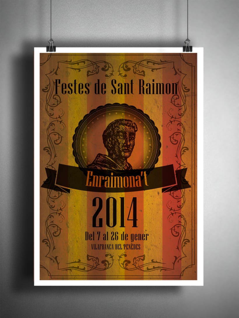 Cartel Festes Sant Raimon 2014 3