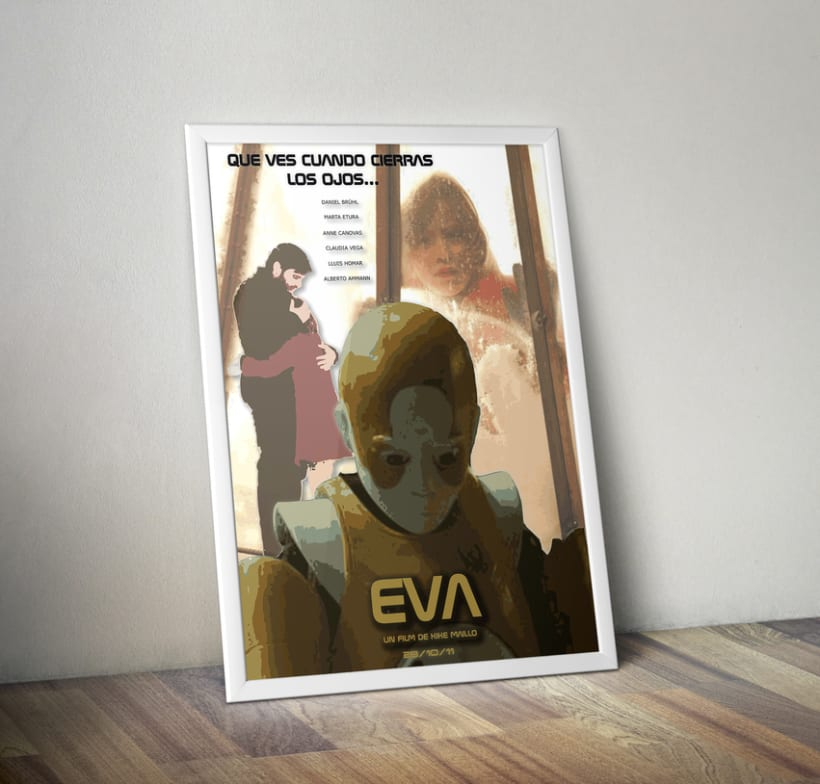 Cartel película Eva 2