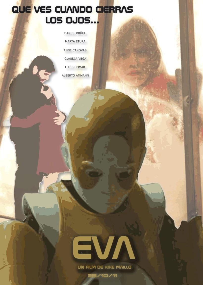 Cartel película Eva 1