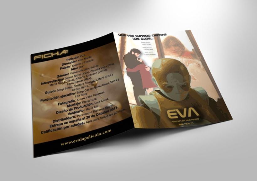 Cartel película Eva 4
