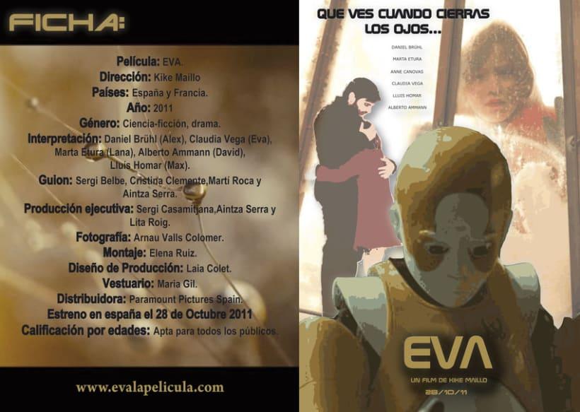 Cartel película Eva 3