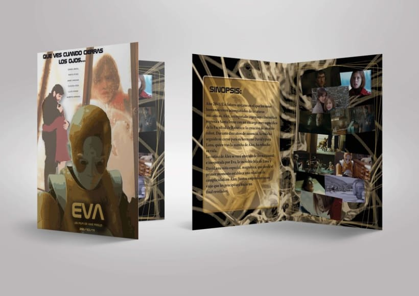 Cartel película Eva 7