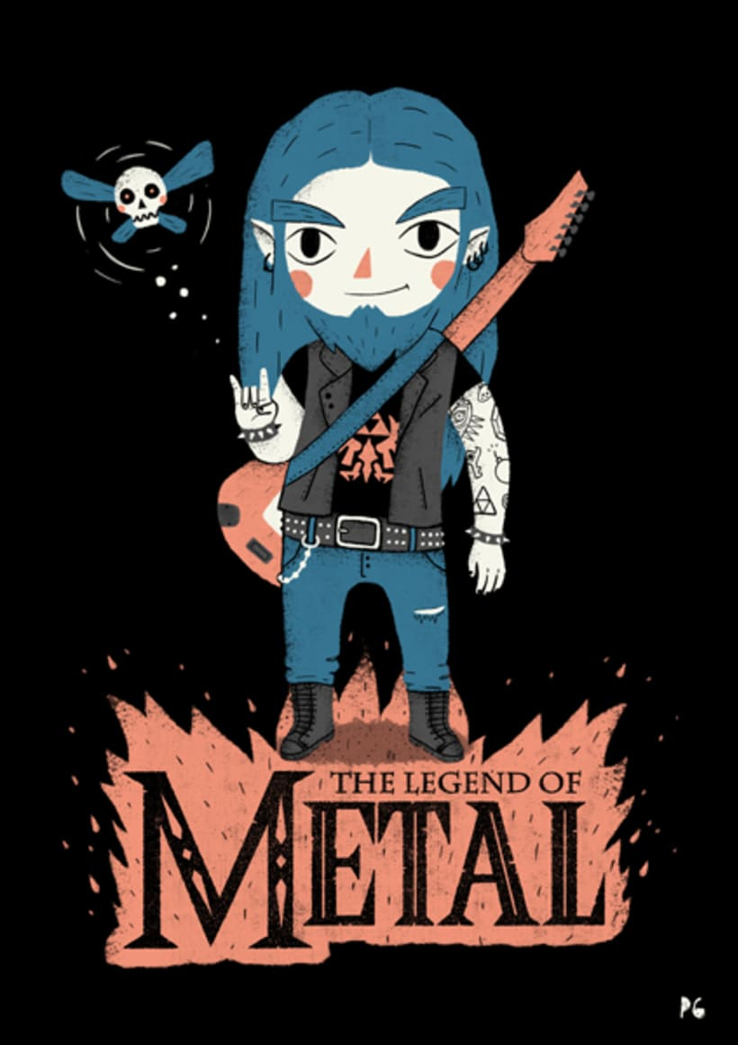 The Legend of Metal 0