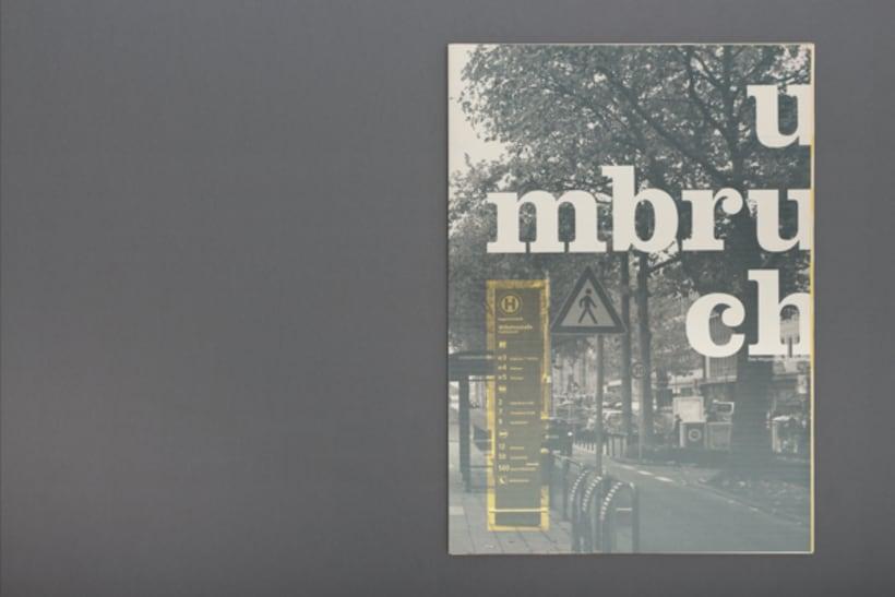 Umbruch – revista sobre la tipografía 0