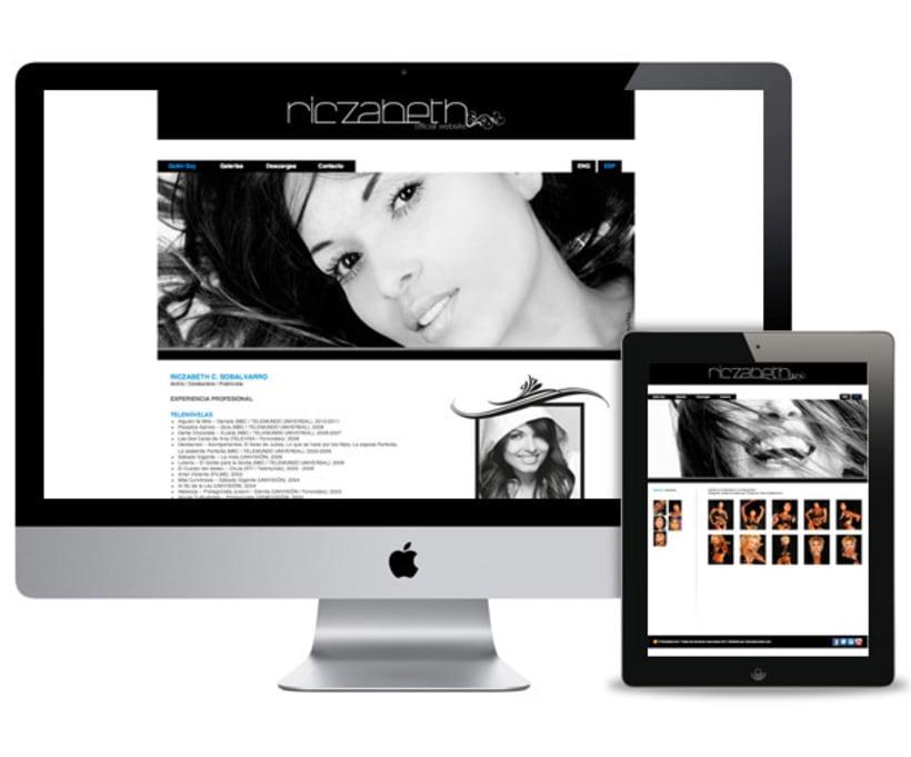 Oficial web (Riczabeth Actress) 4