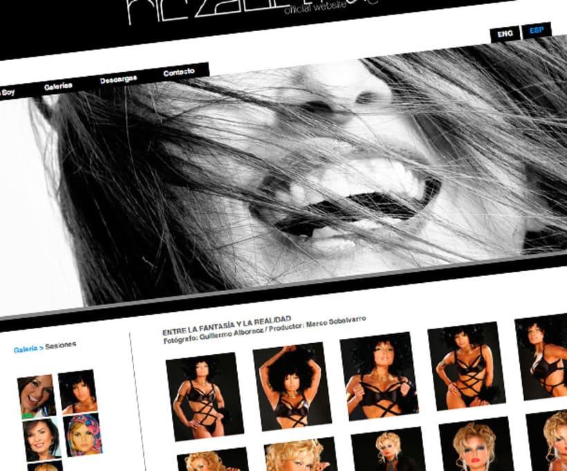 Oficial web (Riczabeth Actress) 0