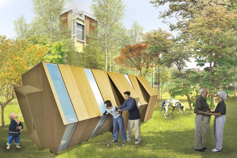 Píldoras habitables. COhousing & COworking 0