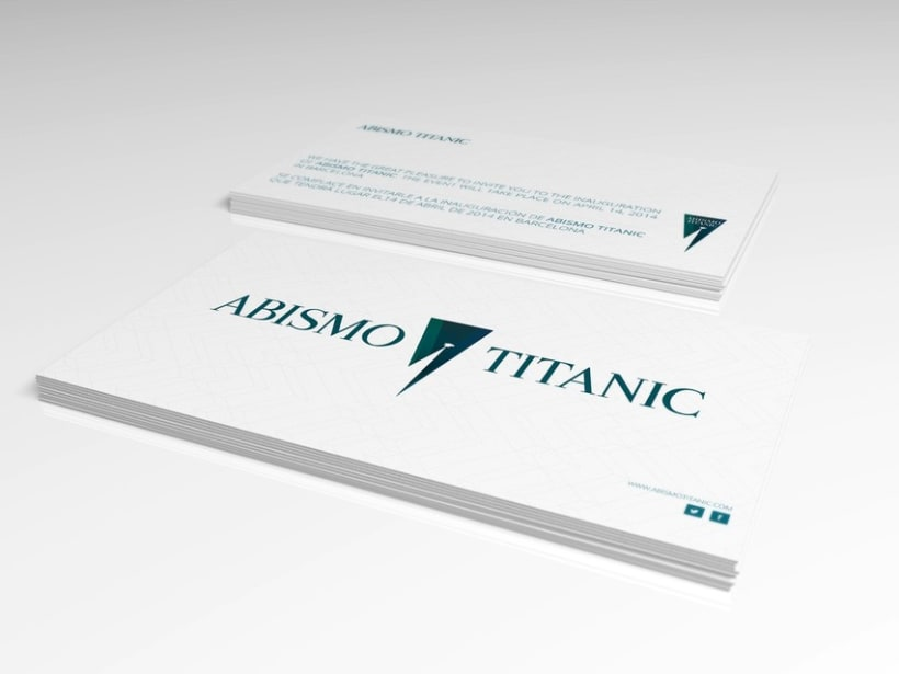 BRANDING AND WEB DESIGN - ABISMO TITANIC 6