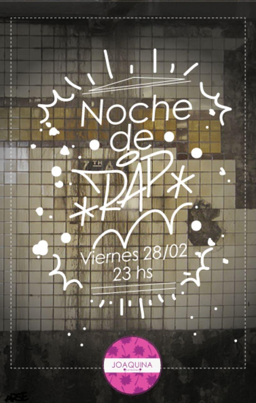 Afiches para Joaquina Bar de Playa -1