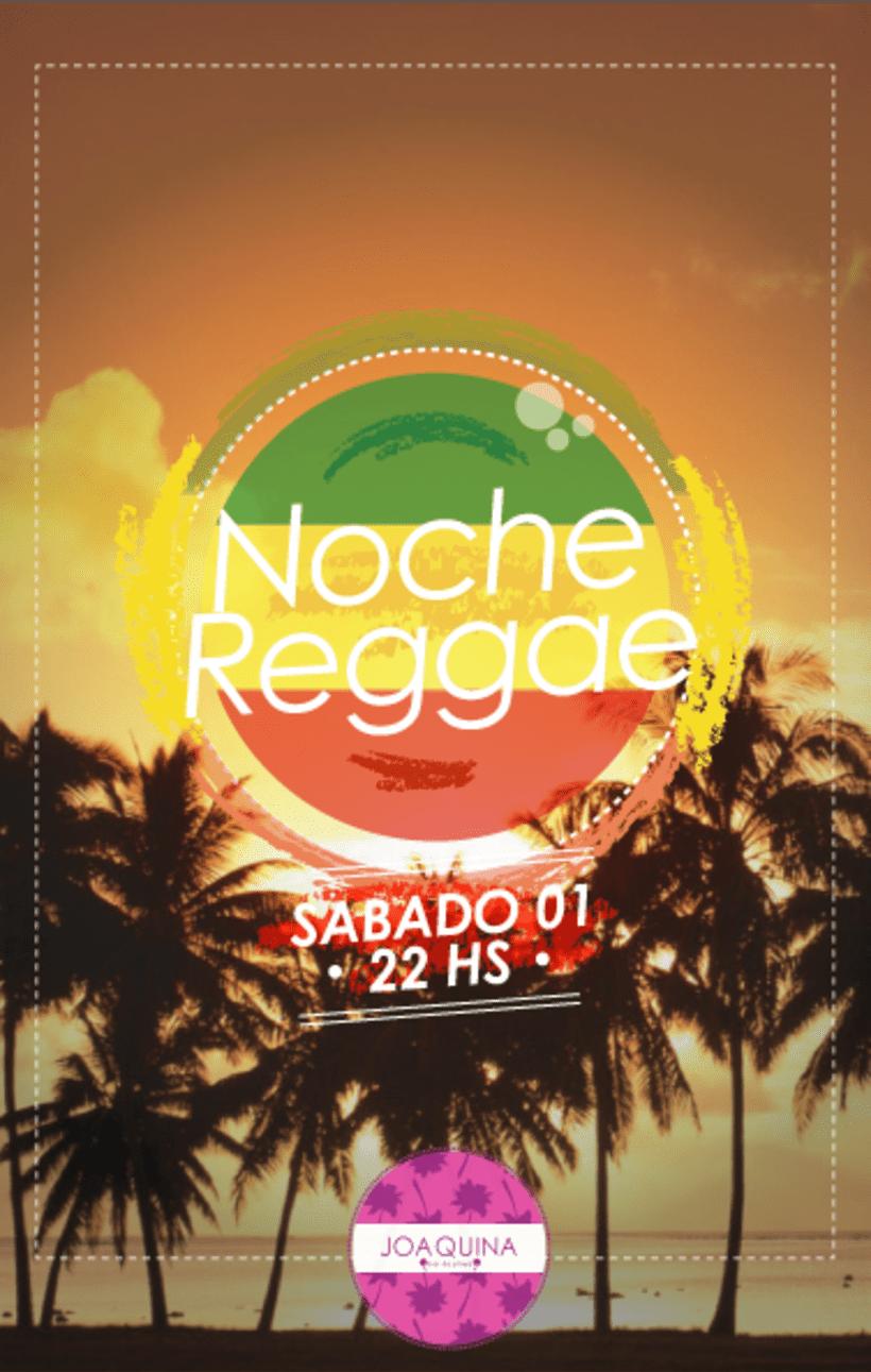 Afiches para Joaquina Bar de Playa 0