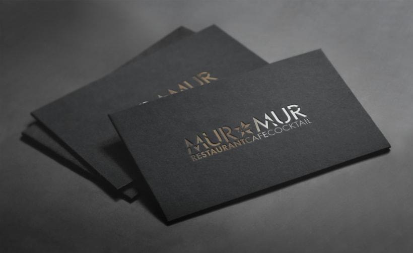 RESTAURANTE  MUR MUR - Logo and more 8