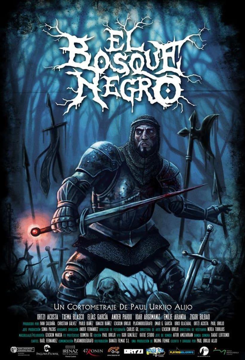 Cartelera: El Bosque Negro 3
