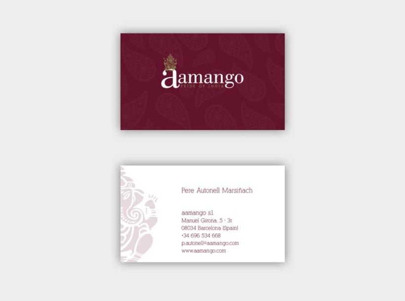 Identidad gràfica Aamango 0