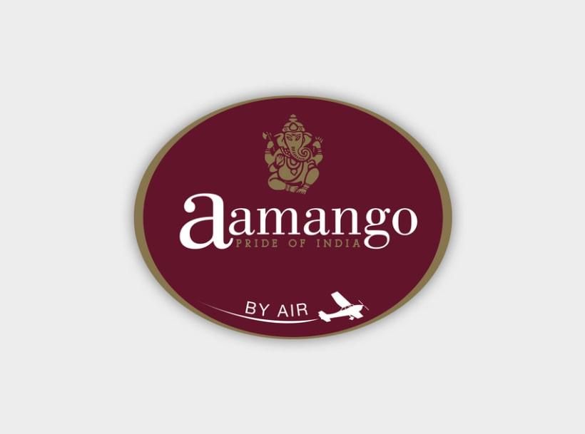 Identidad gràfica Aamango 1