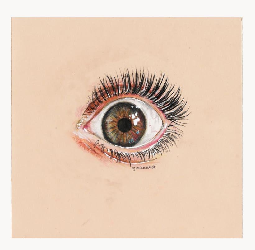 Eye study (Realism) 0