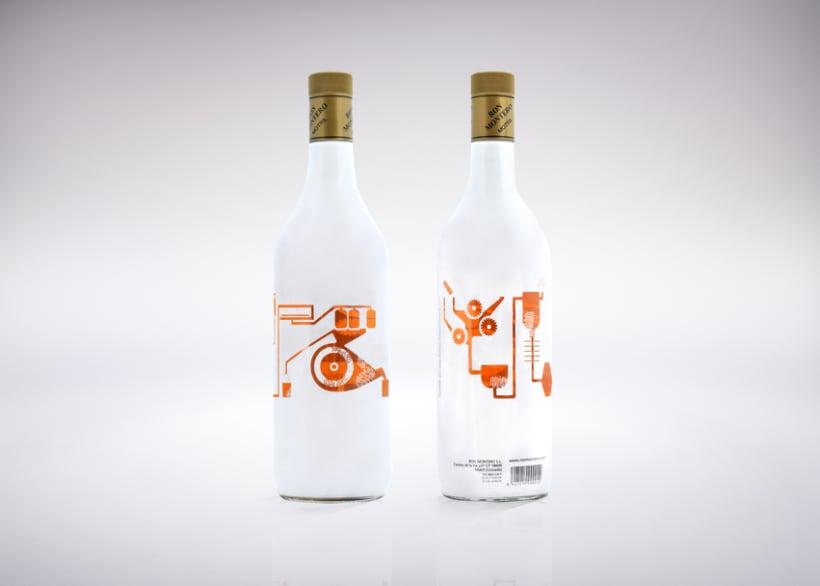 Ron Montero. Bottle Design -1
