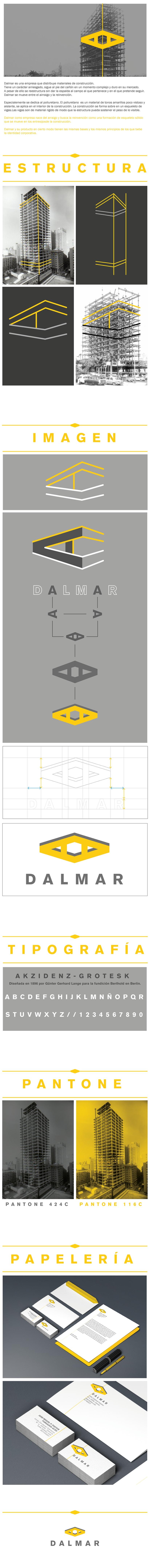 Diseño de identidad corporativa para Dalmar. -1