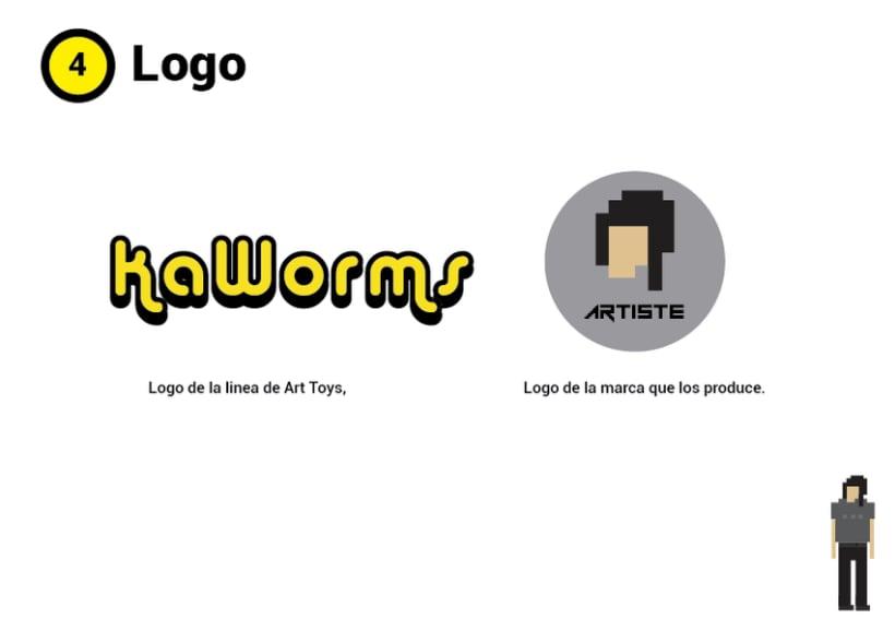 Mi Proyecto del curso Crea un Art Toy Kaworms 2