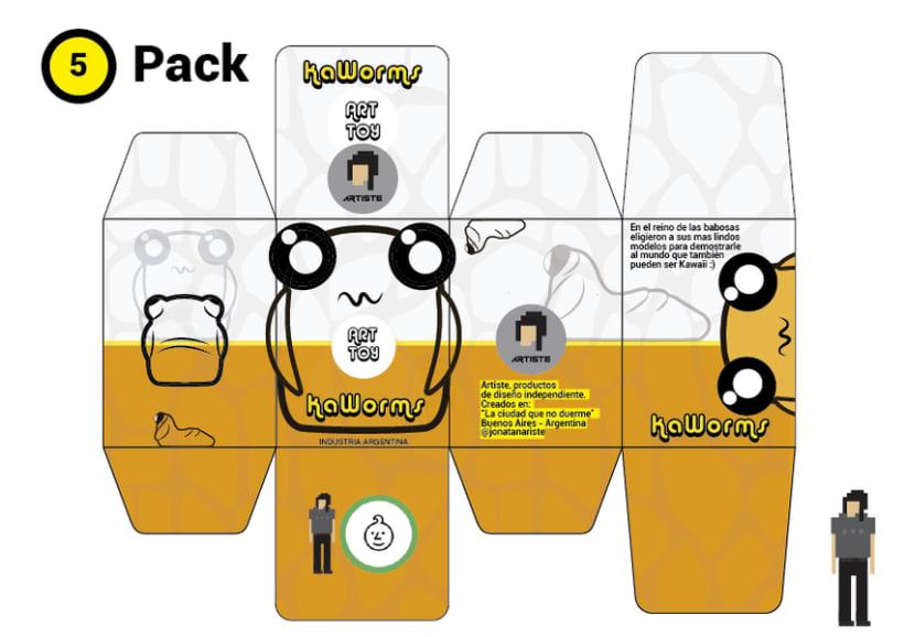 Mi Proyecto del curso Crea un Art Toy Kaworms 3