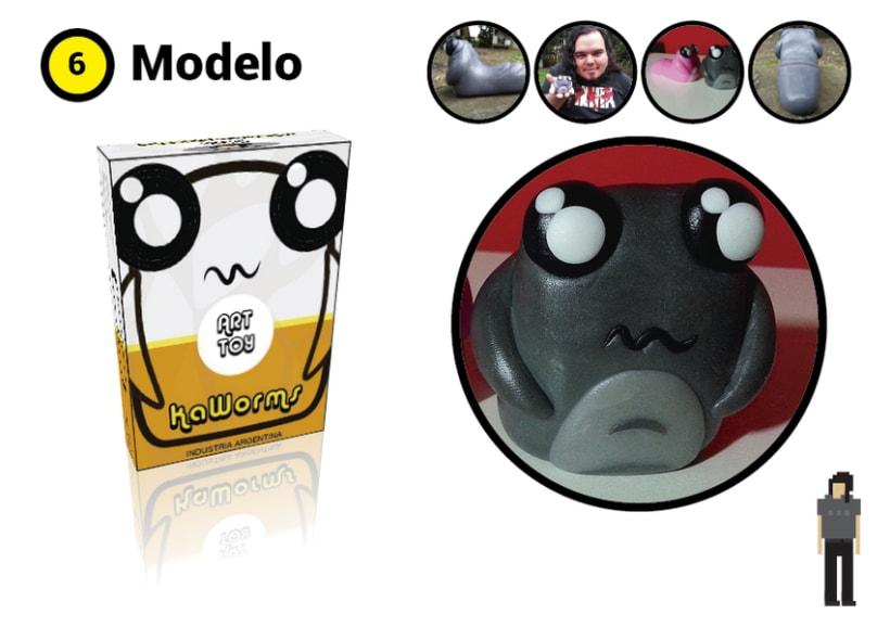 Mi Proyecto del curso Crea un Art Toy Kaworms 4