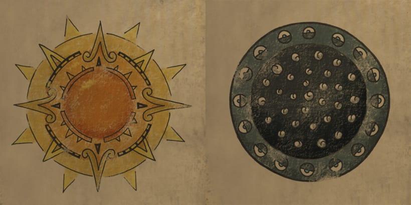 Aztlan: Rise of the Shaman. 1. Illustrations intro 3