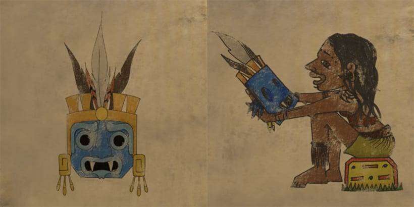 Aztlan: Rise of the Shaman. 1. Illustrations intro 2