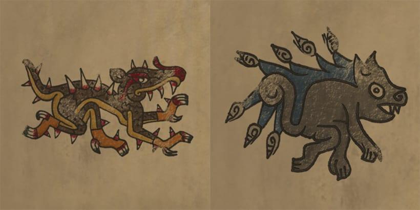Aztlan: Rise of the Shaman. 1. Illustrations intro 1
