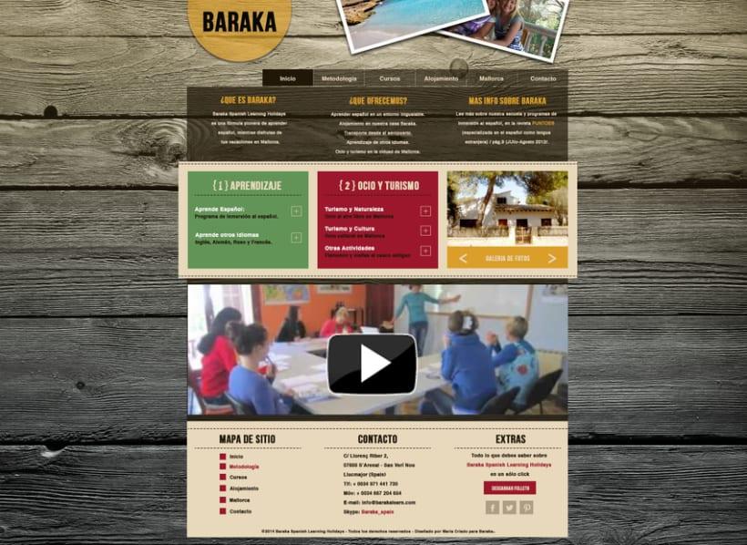 Baraka - Escuela de Idiomas  0