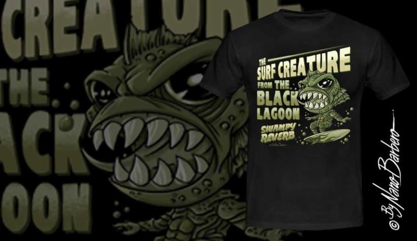 Colección de camisetas, Rockabilly art 11