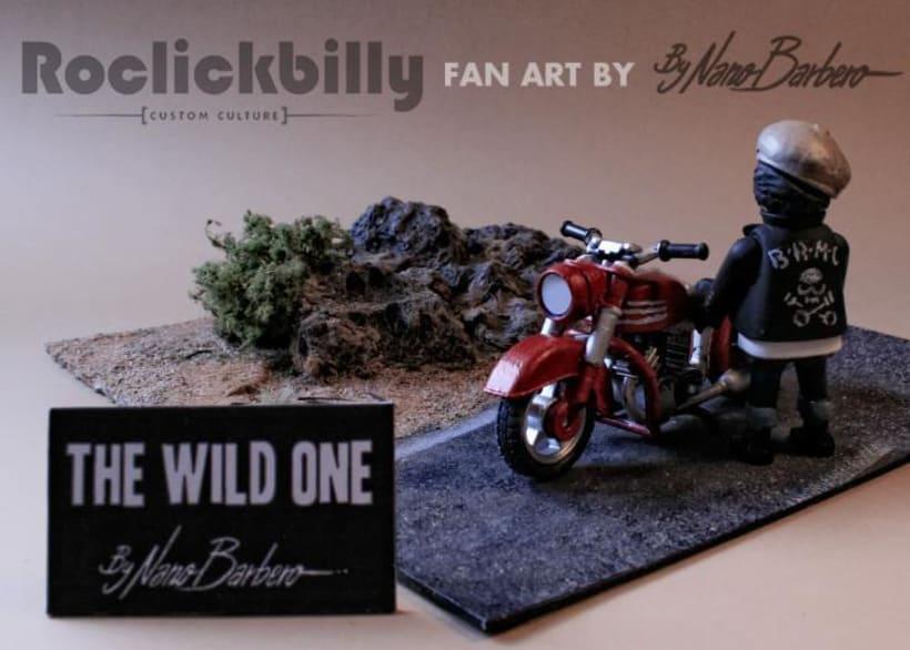 Roclickbilly Custom Playmobil -1