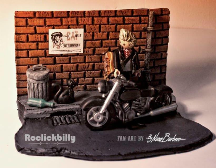 Roclickbilly Custom Playmobil 3
