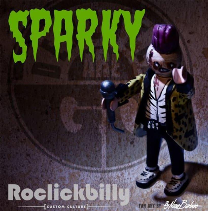 Roclickbilly Custom Playmobil 5