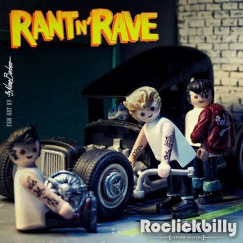 Roclickbilly Custom Playmobil 8