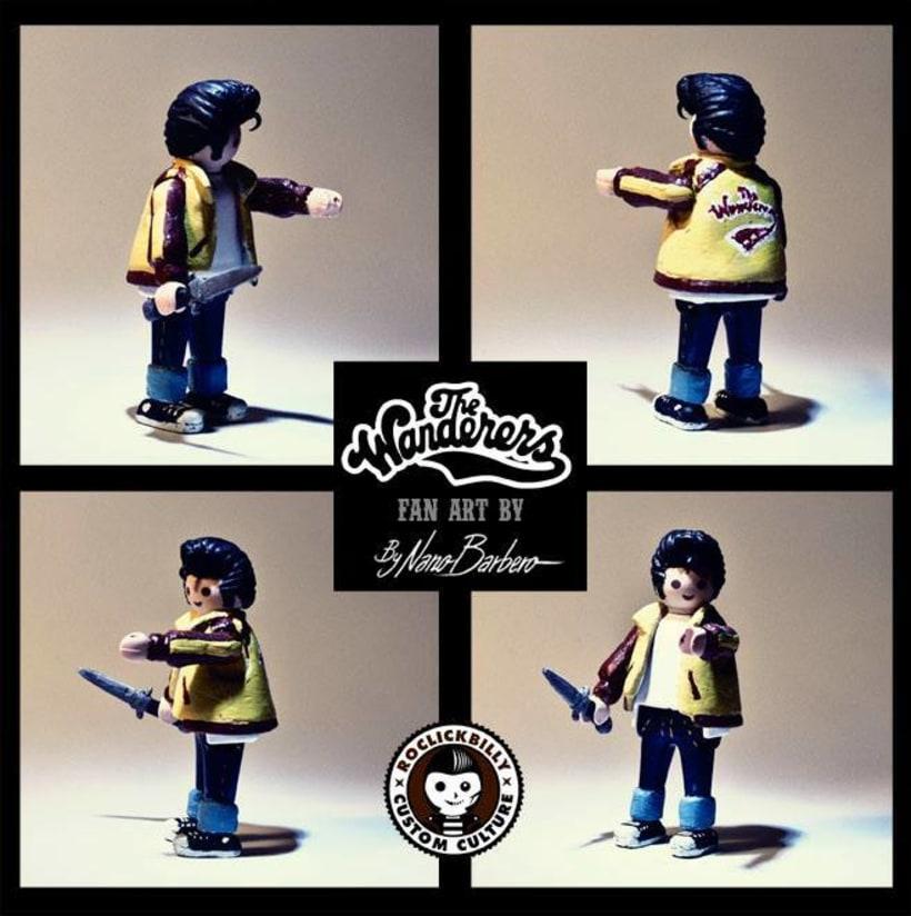 Roclickbilly Custom Playmobil 9