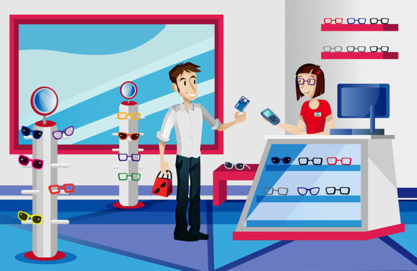 Carrefour explaining videos (Motion Graphics) 4