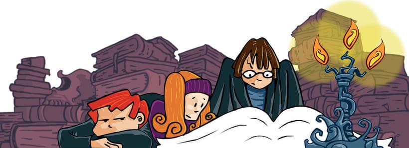 Ilustraciones para libro de texto, Nuevo Aldaba - Editorial Barcanova 1